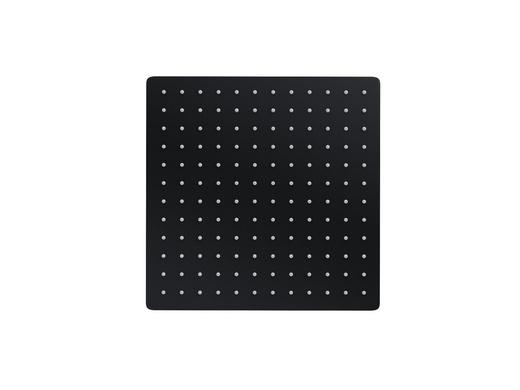 Shower head Corsan CMD25BL ANGO black 25x25 cm