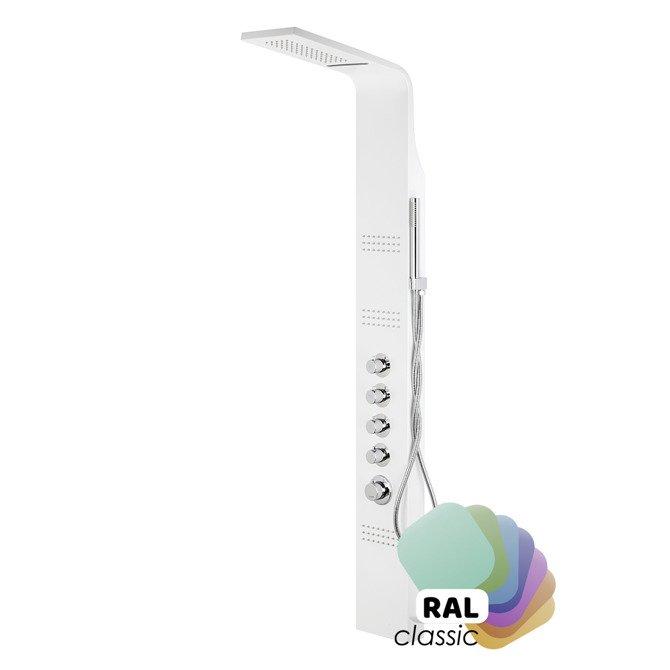 Shower panel Corsan Led Kaskada A013A individual RAL / thermostatic